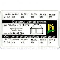Estuche coronas guardapolvo caja 24 pz