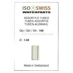 bolsa 100 tubos de corona dm 1.60 mm dm