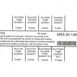 surtido 50 juntas corona referenciadas para RX