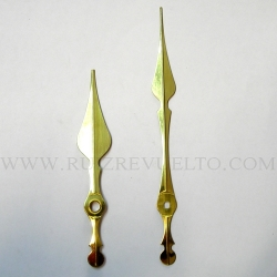 agujas estilo doradas CEE 103/70