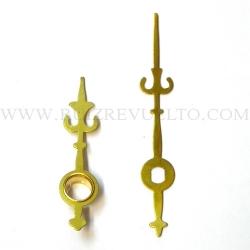 agujas estilo doradas CEE 35/25