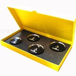 Tases Bergeon 5500-04-XL grandes cajas juego 4 piezas
