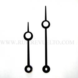 agujas estilo negras 85/62 bregueT