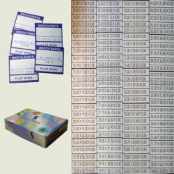 surtido 1000 juntas planas en caja