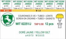 SURTIDO CORONAS WIT 2251/J CH 8 PZ