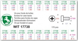 FONDO WIT 17738 SURTIDO TORN 170 PZ