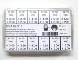 surtido 24 coronas acuaticas chapadas c/l T-200 R-90