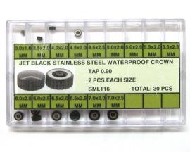 surtido de coronas acuaticas SML 116 pavonadas 30 pz R-90