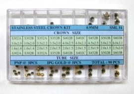 surtido de coronas acuaticas SML 51 R-90
