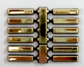 Puntos adhesivos dorados