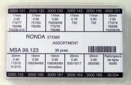 TIJAS SURTIDO 036 PZ RONDA MSA 99.123
