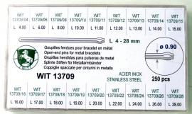 SURTIDO HORQUILLA WIT 13709 250 PZ 0.9MM