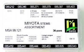 TIJAS SURTIDO 036 PZ MIYOTA MSA 99.121