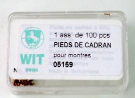 PATAS ESFERA ESTUCHE 100 PZ WIT 05159