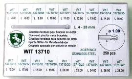 SURTIDO HORQUILLA WIT 13710 250 PZ 1.0MM