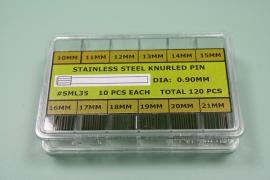 Surtido 200 pz moleteado 0.90 mm dm