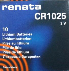 CR1025 CAJA DE 10 Uds