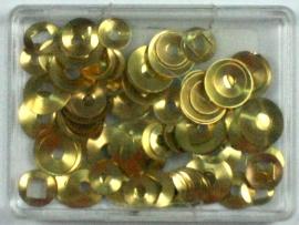 Gotas pared surtido 144 pz laton