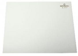 Tapete bergeon blanco 320x240x2.0 mm