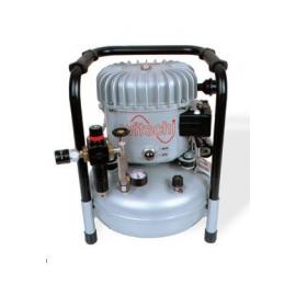 Compresor JunAir 6-10 con desagüe automático para vacuómetro Proofmaster M