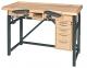 Mesa de madera con ajuste electrónico de la altura