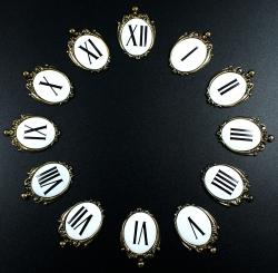 Números baratos para reloj