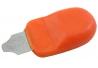 Útil para abrir cajas color naranja GS1986