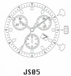 Movimiento MIYOTA JS05