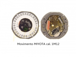 Movimiento MIYOTA 1M12