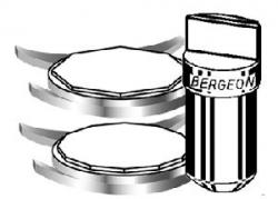 Puntas de llave Bergeon 2819. Diferentes tipos