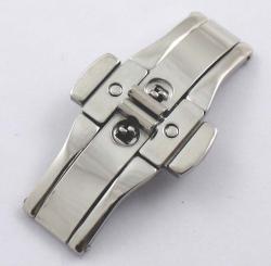 Broche de cierre oculto con pulsador SB21. Medidas en la descripción