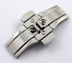 Broche de cierre oculto con pulsador SB23. Medidas en la descripción