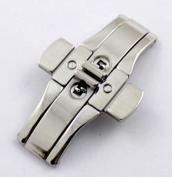 Broche de cierre oculto con pulsador SB25. Medidas en la descripción