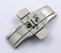 Broche de cierre oculto con pulsador SB28. Medidas en la descripción