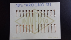 carta 12 juegos agujas A-151