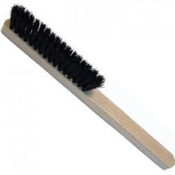 cepillo mango madera 4 hileras cerda negra