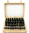 34 tases para cristales de forma BERGEON 1028