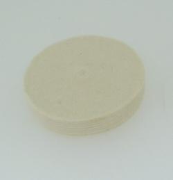 Cepillo circular de fieltro 50 mm