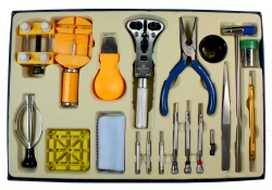 Estuche herramientas 21 piezas caja azul
