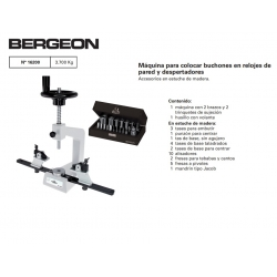 MAQ, PONER CENTROS BERGEON 6200 PARED
