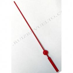 segundero metal rojo 85 mm