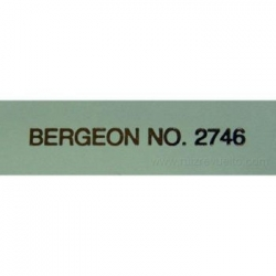 tapete mesa Bergeon 2.00 mm espesor