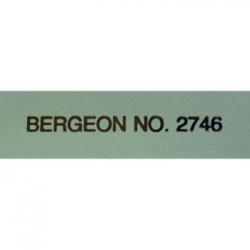 tapete mesa Bergeon 2.00 mm espesor