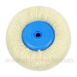 Cepillo circular algodon 80 mm hilo