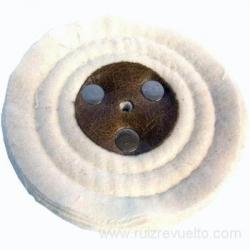 Cepillo circular franela 100 mm