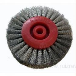 Cepillo circular hilos de acero 80 mm