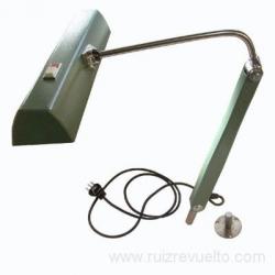 Lampara Lumiflex con pie de tornillo