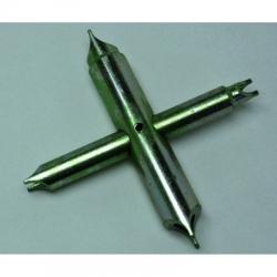 llave de tuercas cuarzo en cruz 4 bocas
