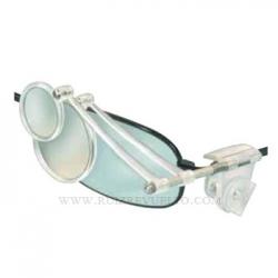 lupa bifocal de patilla