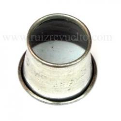 Lupa sencilla aluminio